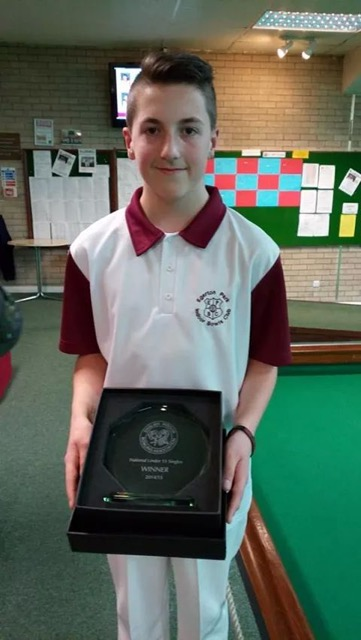 Ajay Morphett National Singles Winner 2014/15