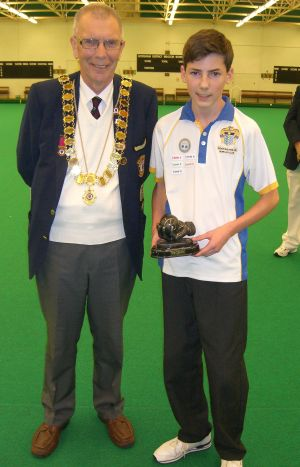 James Brennan - Overall Champion (Worthing Pavilion IBC)