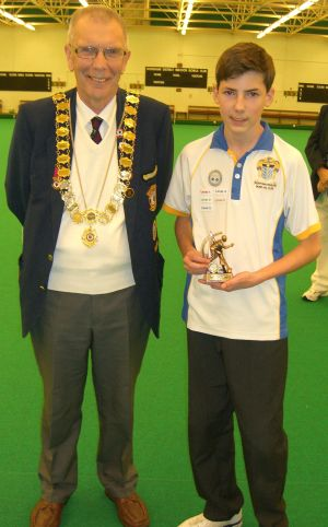 James Brennan - Top Boy Skills Winner (Worthing Pavilion IBC)