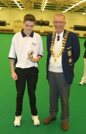 Michael Murphy - Top Boys Singles Winner (Grattons IBC)