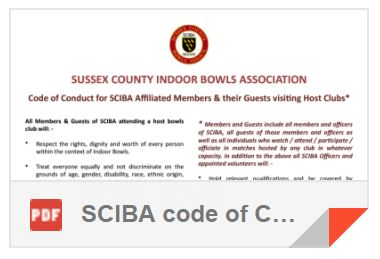 SCIBA Code of Conduct