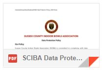 SCIBA Data Protection Policy  25-05-18